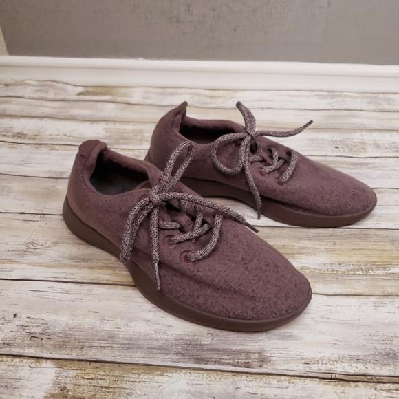 Kotare Plum Wool Runners Womens Size 7